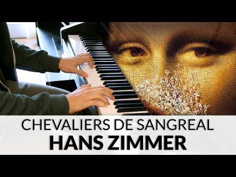 The Da Vinci Code - Chevaliers de Sangreal (Hans Zimmer) | Piano Cover