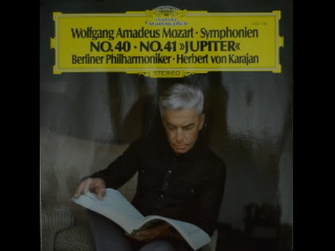 Mozart - Symphony No  40 in G Minor KV 550 (Berlin Philharmonic / von  Karajan)