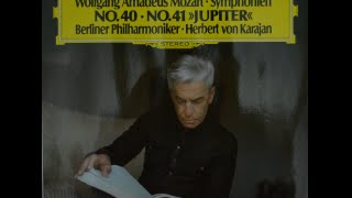 mozart symphony no 40 in g minor kv 550 berlin philharmonic von karajan