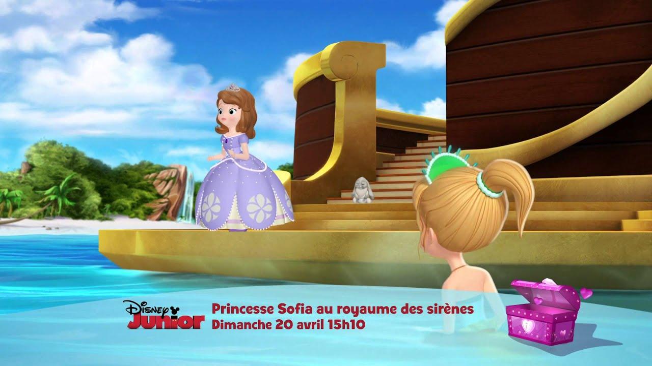 Princesse Sofia Au Royaume Des Sirenes Dimanche 20 Avril A 15h10
