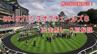 2019プリンスオブウェールズS 出走馬レース別解説(勝ち組在籍方法!)