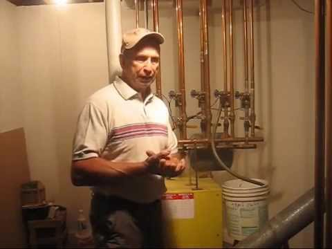 Bleeding A Hot Water Boiler Youtube