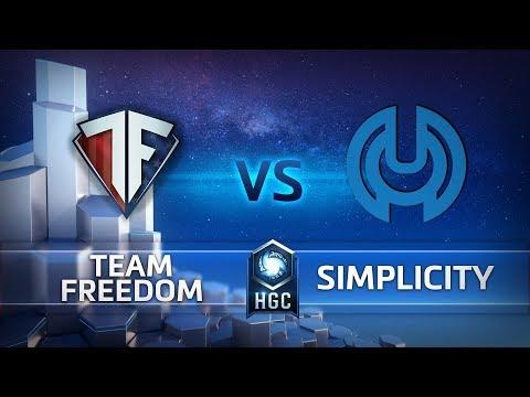 HGC NA – Phase 1 Week 5 - Team Freedom vs. Simplicity - Game 1