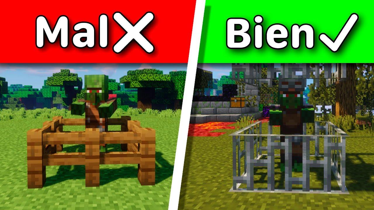 Cosas que haces mal en Minecraft #shorts