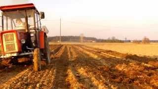 Wiosna w Polu Vol.2 - Wywóz obornika i orka czyli uprawa pod Ziemniaki 2014[HD]