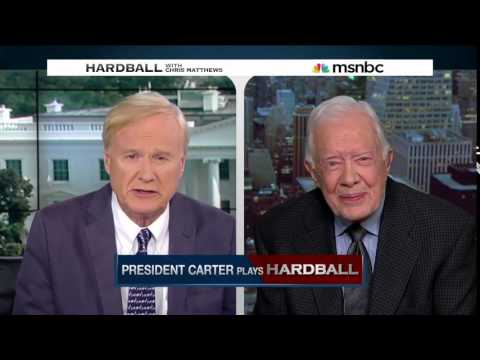 President Jimmy Carter plays Hardball