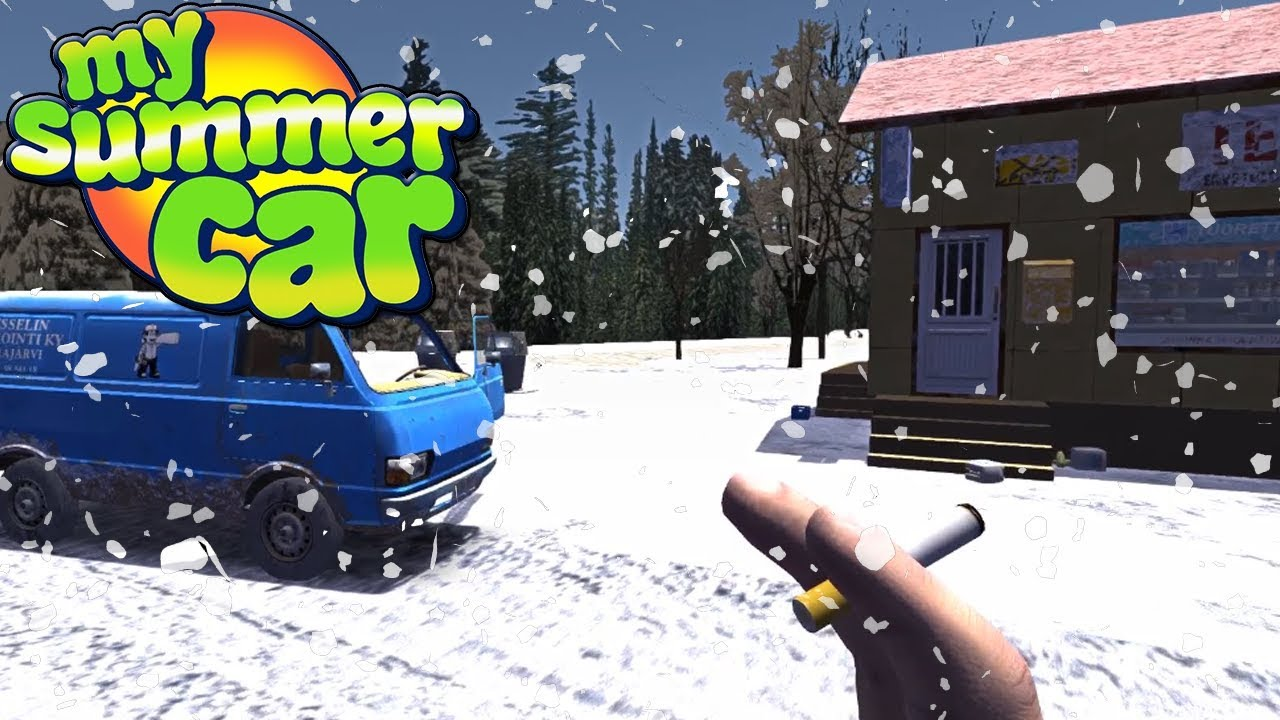 ŚWIĘTA w My Winter Car – My Summer Car #89