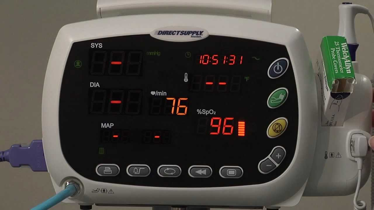 Taking Pulse Oximetry And Pulse Rate