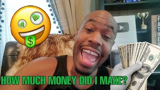 How much money I made on YouTube off a video with 3 Million views