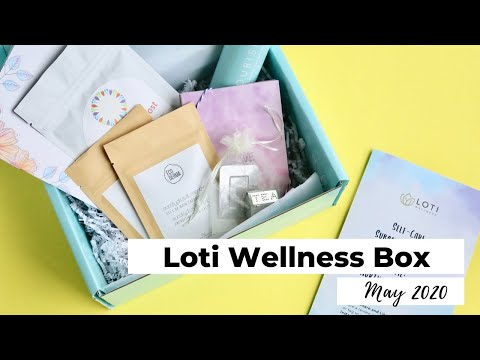 Loti Wellness Box Unboxing May 2020: Wellness Subscription Box