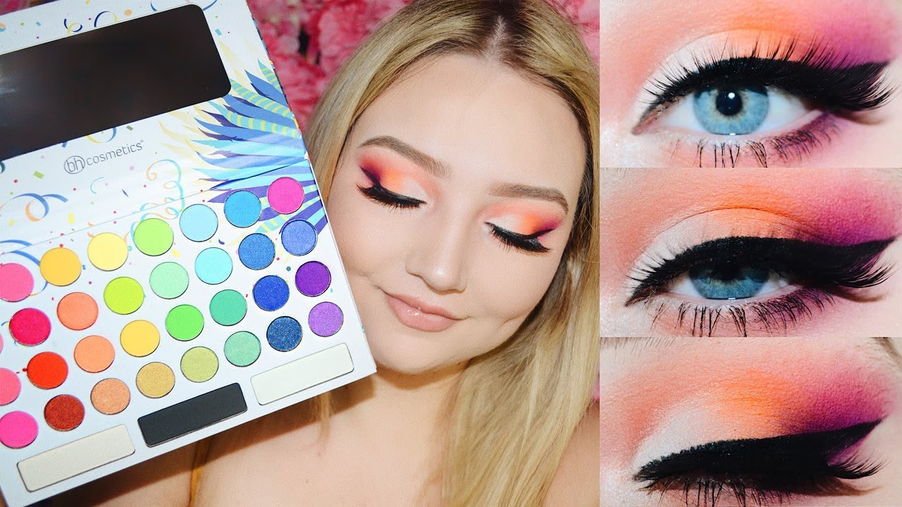 bh cosmetics makeup tutorial