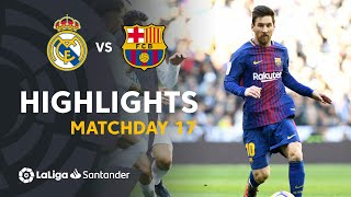 ElClasico - Highlights Real Madrid vs FC Barcelona (0-3)