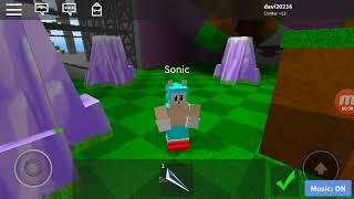Sonic mania no roblox