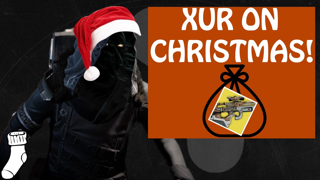 Xur On Christmas!! - Christmas Day Loadout - Destiny:The Taken ...