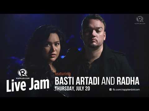 Rappler Live Jam: Basti Artadi and Radha