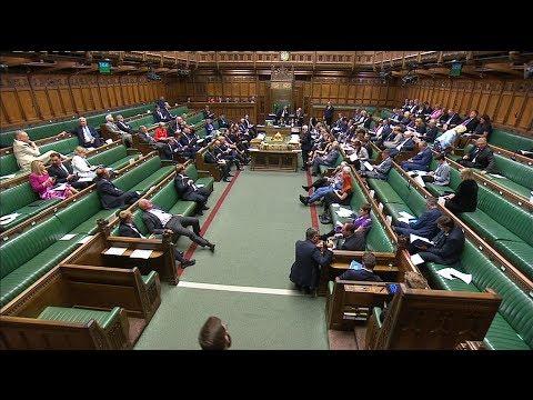Live: MPs vote