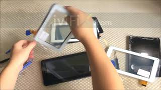 Touch Screen Disassembly Repair Guide for China Android Tablet PC