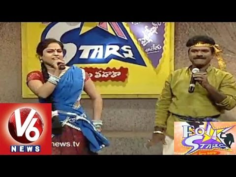 Telangana Special Folk Songs || Folk Star Dhoom Thadaka - 10 || Full Episode  ||V6 News