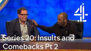 The greatest insults and comebacks from Series 20 Pt 2 | 8 Out of 10 Cats Does Countdown