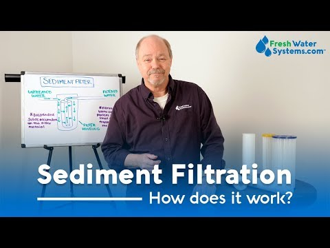 What Is Sediment Filtration And How Does It Work
