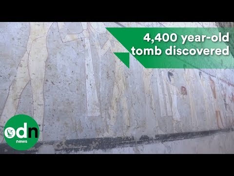 4,400 year-old tomb discovered near Egyptian pyramids