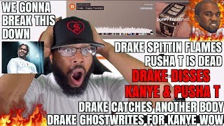DRAKE - DUPPY FREESTYLE (KANYE & PUSHA T DISS) REACTION/REVIEW/BREAKDOWN