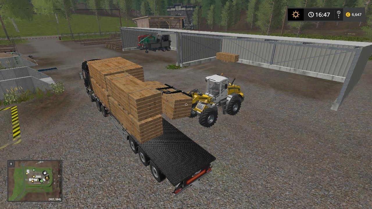 Selling Lumber Pallets Rockwood Farming Simulator 2017