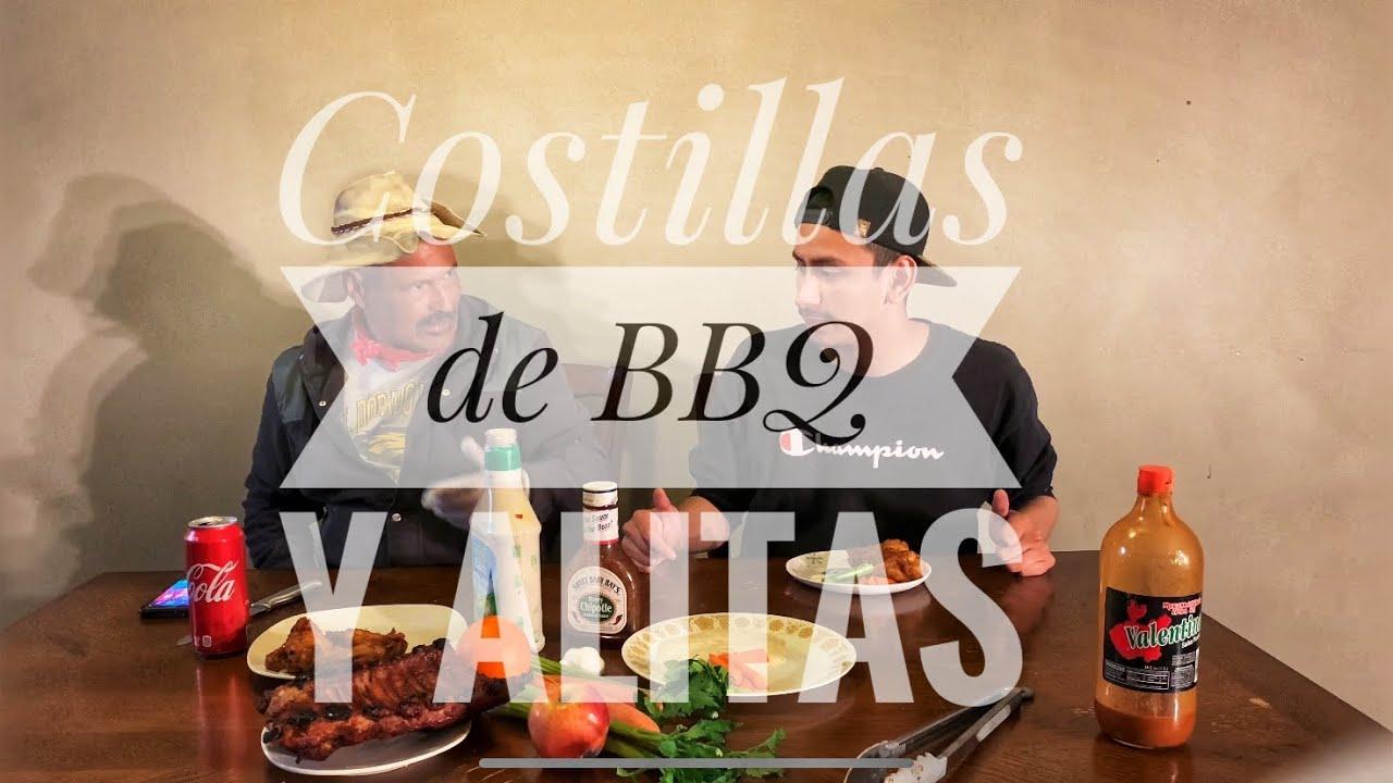 Costillas De BBQ y Alitas