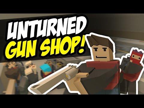 GUN SHOP - Unturned RP (Funny Moments)