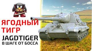 Ягодный тигр. Jagdtiger.  В шаге от босса.