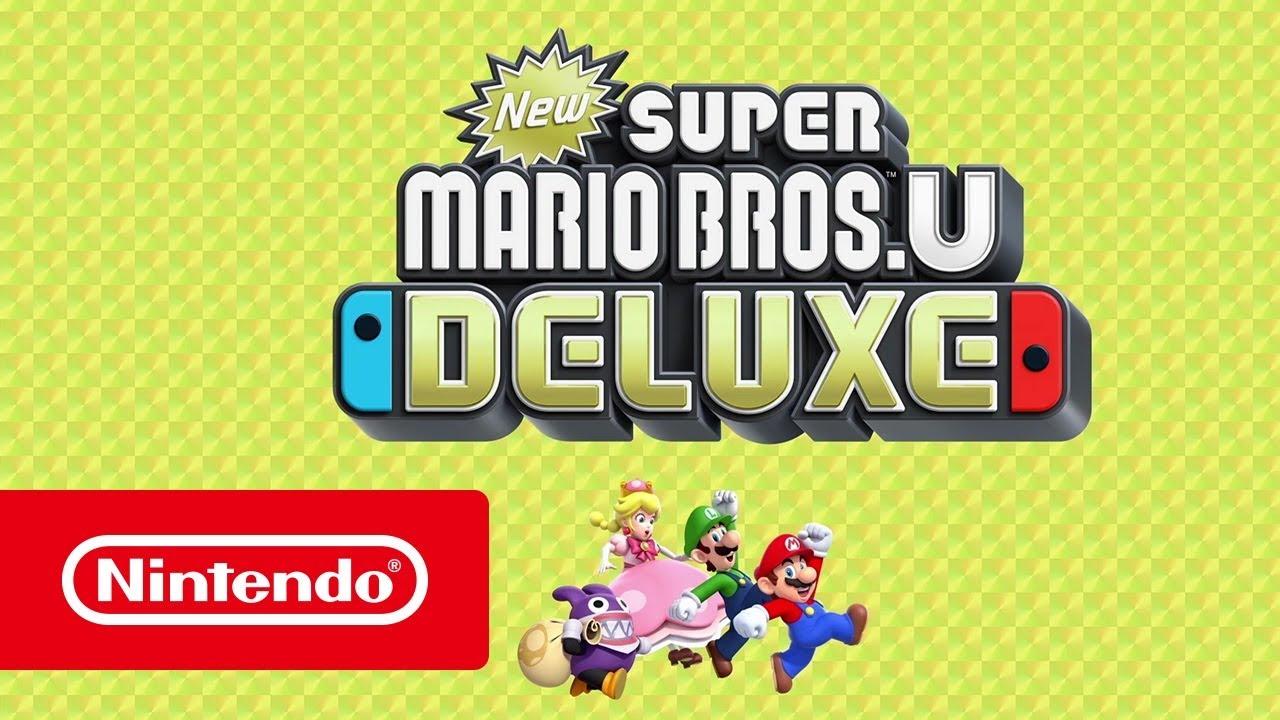 New Super Mario Bros U Deluxe Bande Annonce Générale Nintendo Switch