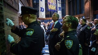 Mayor de Blasio Speaks at the NYPD Police Memorial Day Ceremony