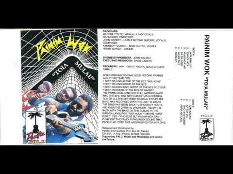 PAINIM WOK Band - Ram Kaliku-1990- TOLAI (slow motion) ROCK