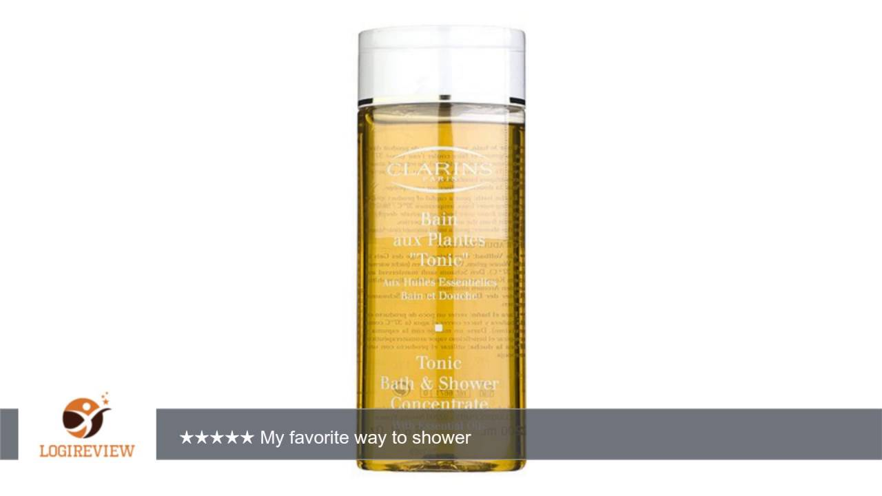 Exceptional Clarins Tonic Bath And Shower Concentrate Part - 14: Clarins Tonic Bath U0026 Shower Concentrate 6.7 Ounces | Review/Test