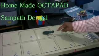 sampath octapad Using Laptop