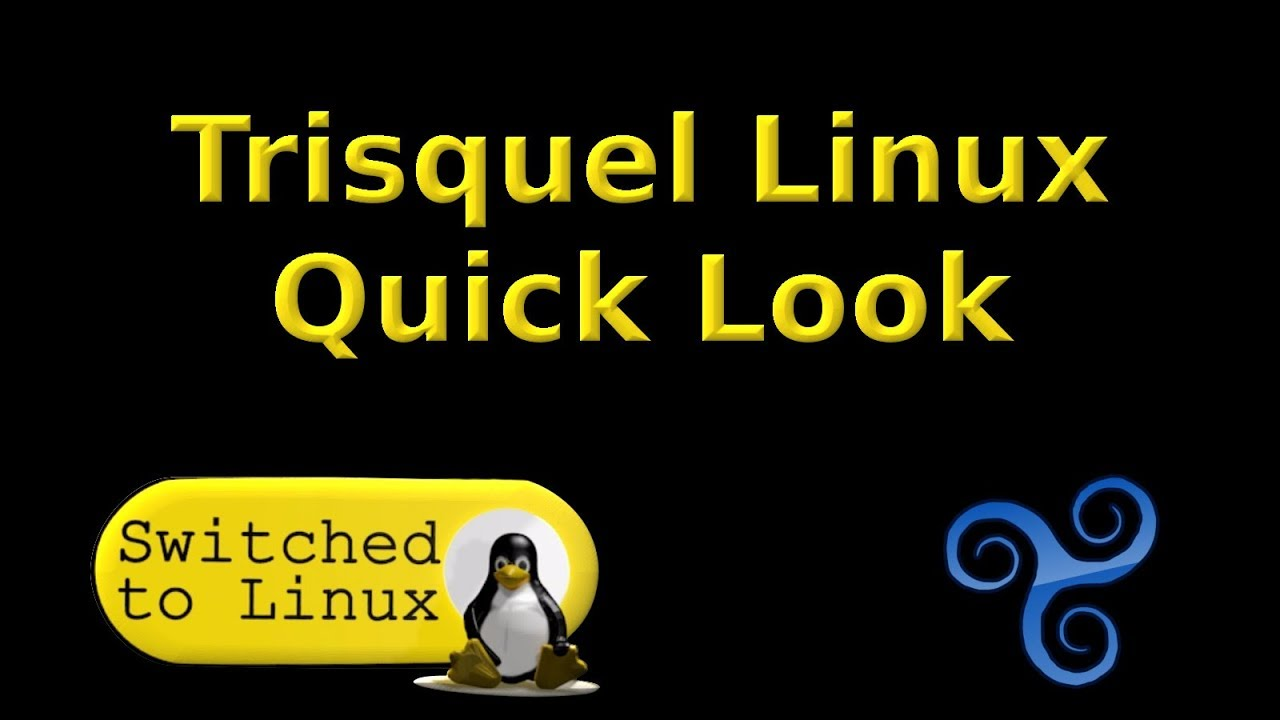 Trisquel OS Quick Look - YouTube