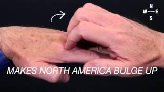 'The Really Big One' earthquake and tsunami explained by hand