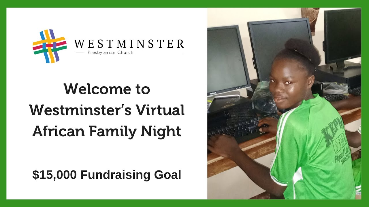 2021 African Family Night in Your Own Home