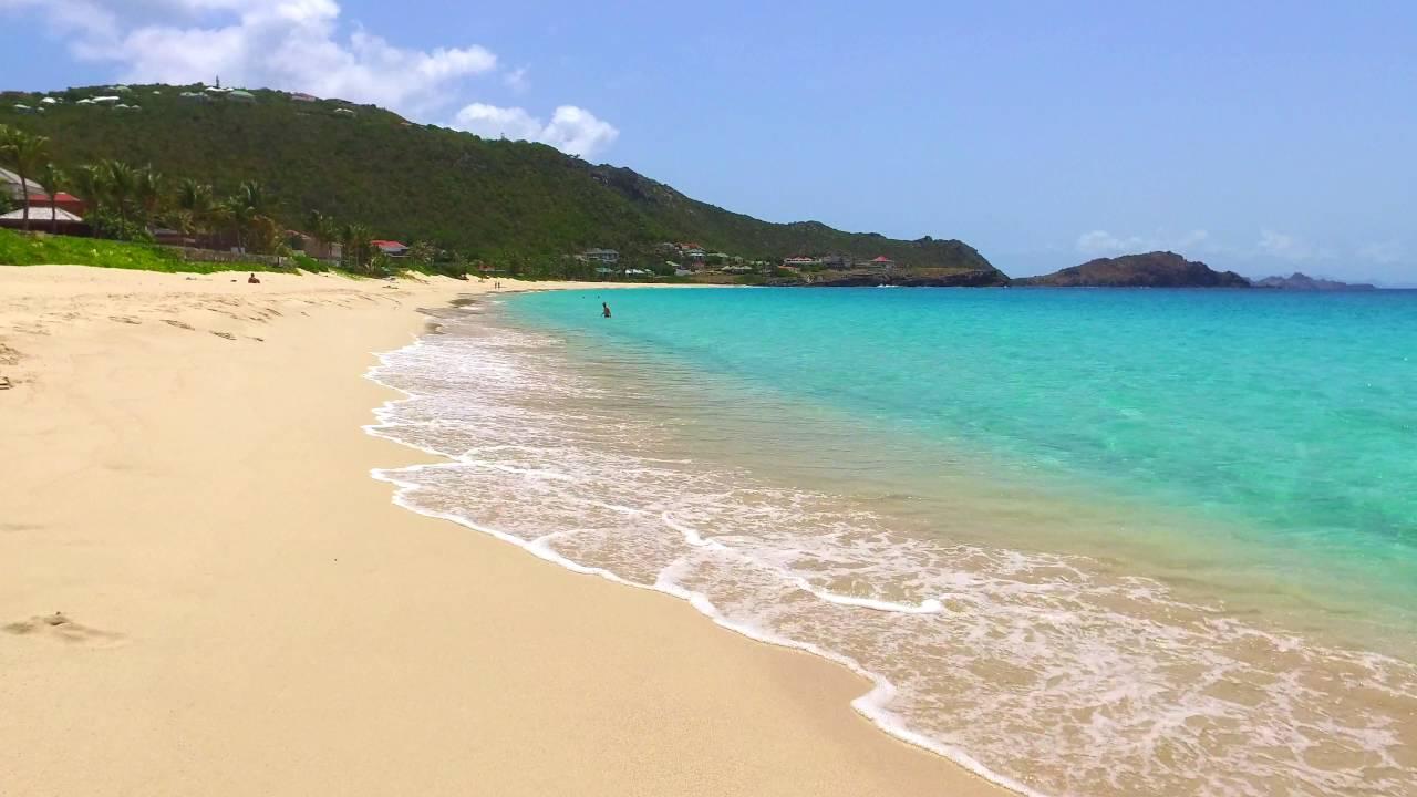 a walk on the beach in st barth caribbean youtube