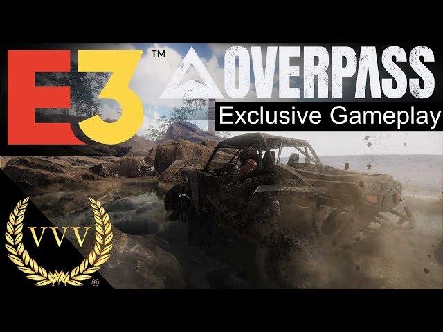 Overpass Gameplay First Look - E3 2019