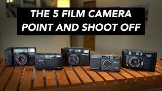The 5 Film Camera Point & Shoot Comparison – Canon AF35M vs Nikon L35AF and more!