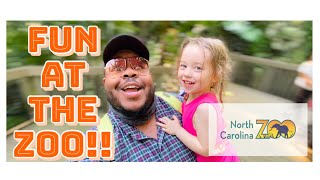 CRAZY DAY AT THE ZOO! vlog| family vlogs| north carolina