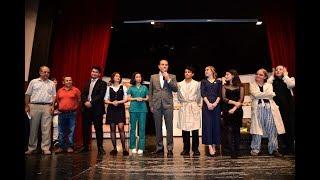33. Tiyatro Şenliği'nde Liseli Gençlerden Başkan Sözlü'ye Sevgi Seli