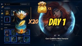 Daily 20x Birdie Capsules Opening (Day 1) - League of Legends