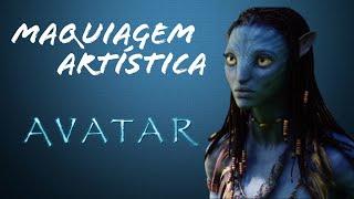 Avatar - Maquiagem Artística