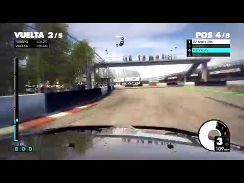 DIRT3   F1 XBOX   RALLYCROSS   LOS ANGELES   MITSHUBITSI LANCER 5 ETAPAS