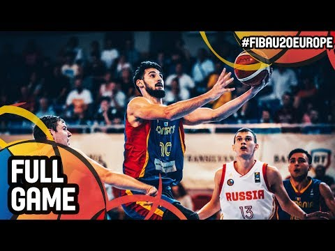 Russia v Romania - Full Game - Semi-Finals - FIBA U20 European Championship 2017 - DIV B