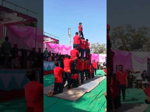Annual function JNV Manpur 2019 (pyramid formation) Mp3
