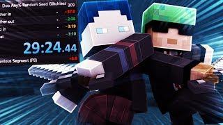 NEUER REKORD Minecraft Duo Speedrun (29:24.44) - Random Seed