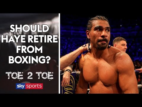 """I would not be surprised if David Haye fought Tyson Fury next!""  